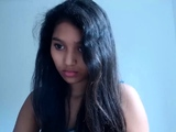 Indian Desi Teen In Glasses Squirting On Webcam
